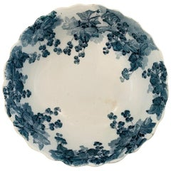 Large English Bowl By Ridgways Royal Semi Porcelain