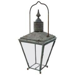 Large English Copper Lantern