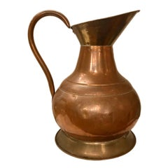 Large English Copper Vase/Decanter