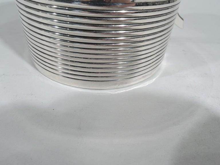 Large English Georgian Sterling Silver Mug 2