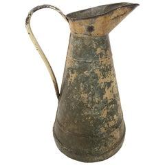 Großer englischer Metallkrug, Ende des 19. Jahrhunderts