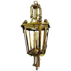 Large English Neoclassic Lantern