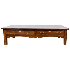 Large English Pine Coffee Table