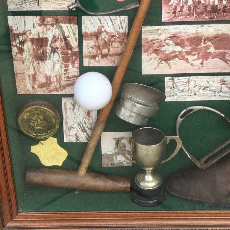 Large English Polo Diorama For Sale 2