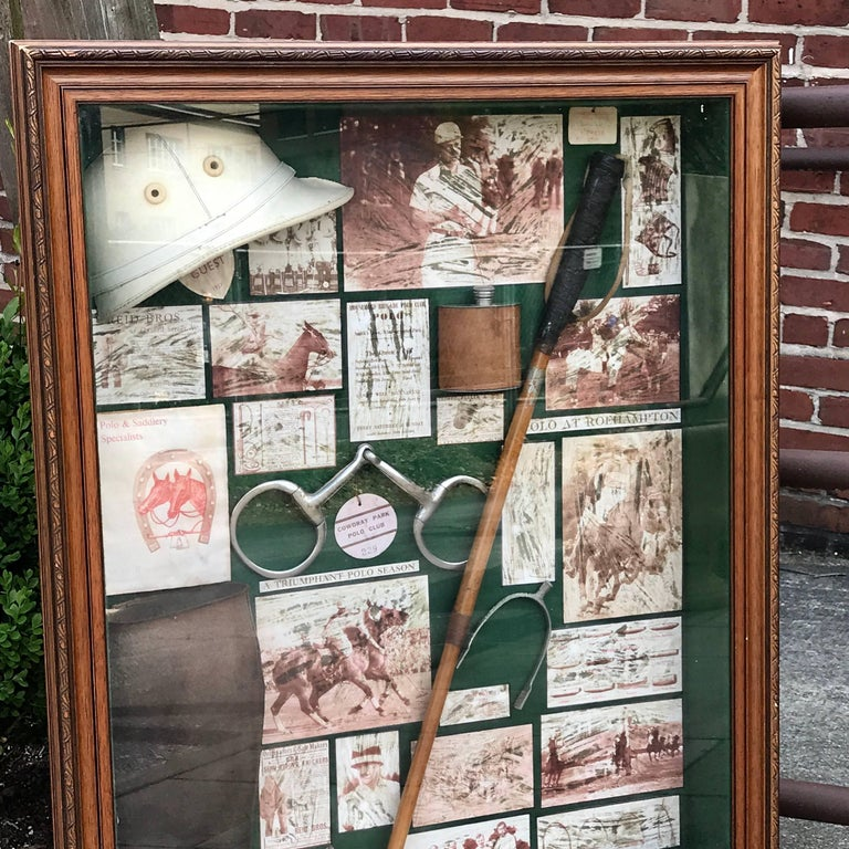 Large English Polo Diorama For Sale 3