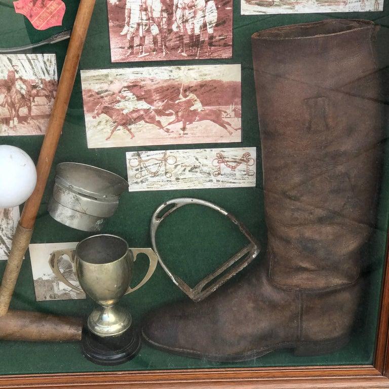 Large English Polo Diorama For Sale 4