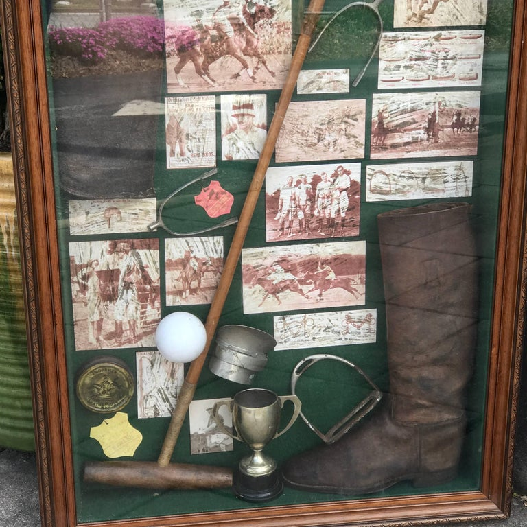 Large English Polo Diorama For Sale 5