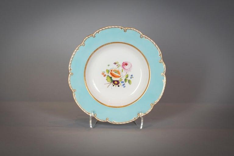 Large English Porcelain Dinner Service, Minton, circa 1845 For Sale 6