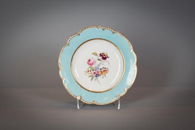 Large English Porcelain Dinner Service, Minton, circa 1845 For Sale 10