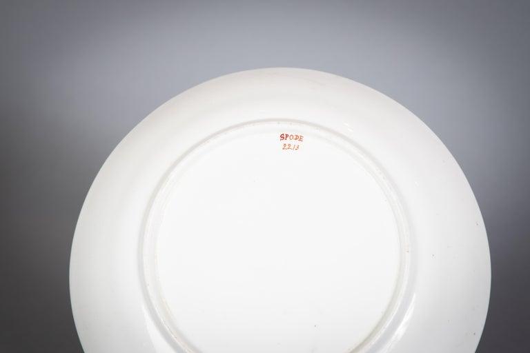 Large English Porcelain Imari Pattern Dessert and Tea Service, Spode, circa 1815 For Sale 11