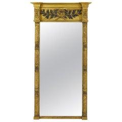 Large English Regency Mirror
