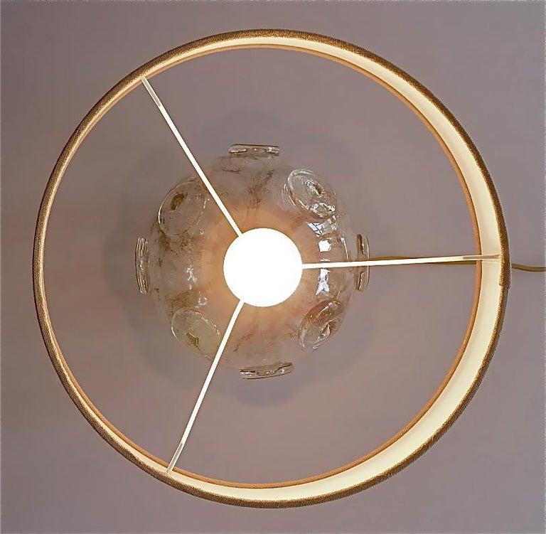 Large Ercole Barovier Crepuscolo Table Lamp Murano Glass Art Deco, 1930s For Sale 3