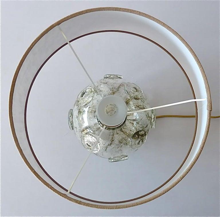 Large Ercole Barovier Crepuscolo Table Lamp Murano Glass Art Deco, 1930s For Sale 2