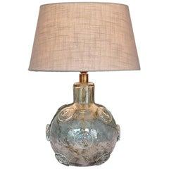Large Ercole Barovier Crepuscolo Table Lamp Murano Glass Art Deco, 1930s