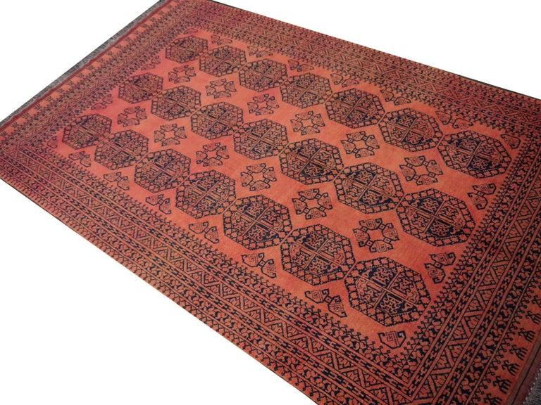 Large Ersari Tribal Turkoman Rug For Sale 3