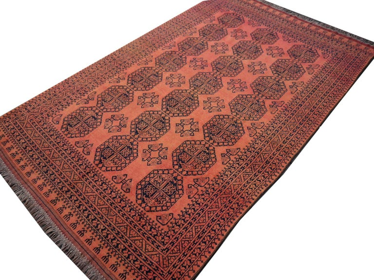 Large Ersari Tribal Turkoman Rug For Sale 5