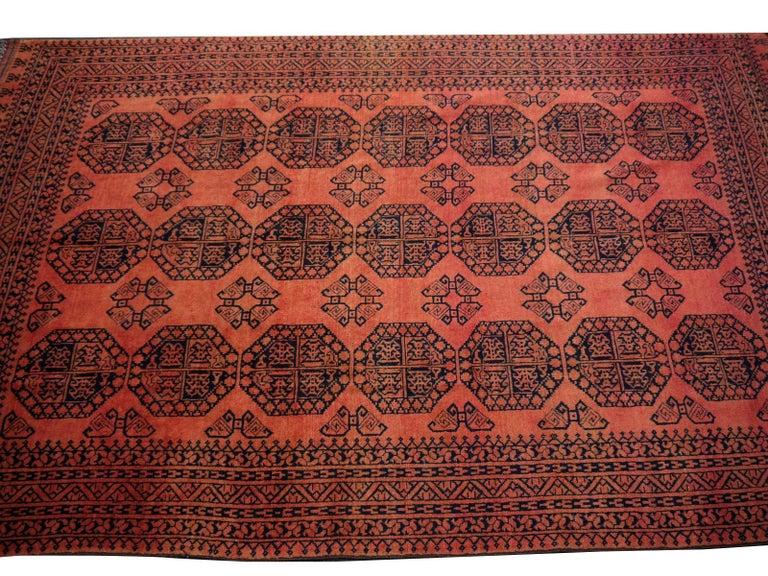 Large Ersari Tribal Turkoman Rug For Sale 6