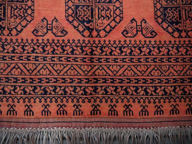 Large Ersari Tribal Turkoman Rug For Sale 9