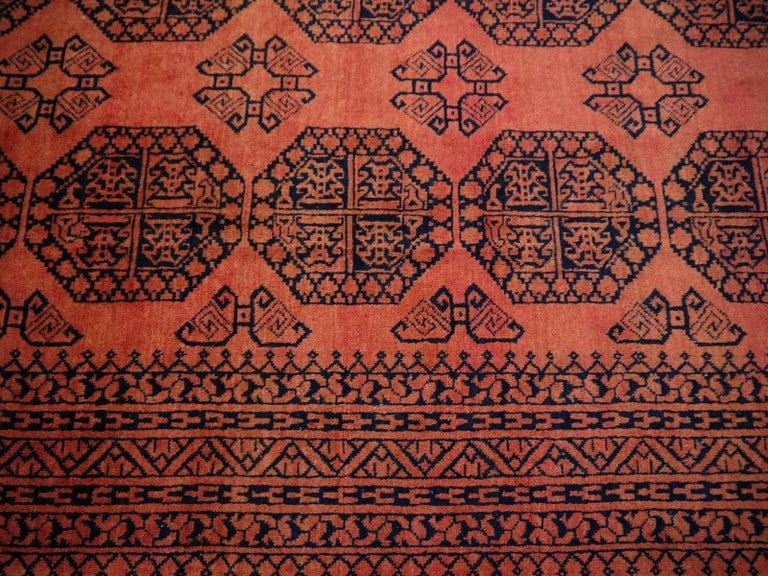 Large Ersari Tribal Turkoman Rug For Sale 11