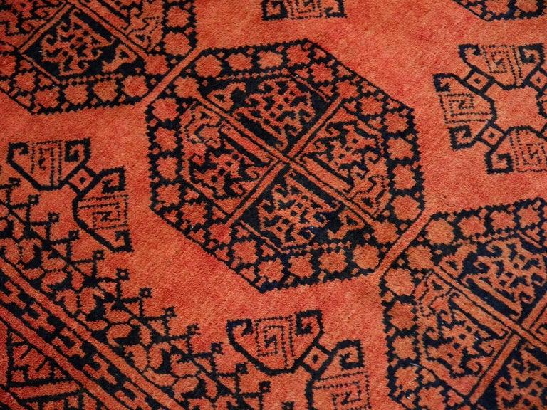 Large Ersari Tribal Turkoman Rug For Sale 12