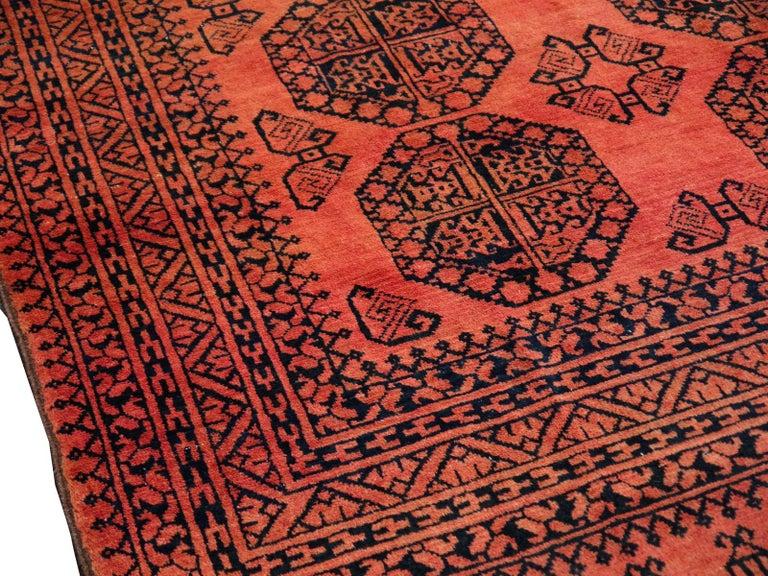 Afghan Large Ersari Tribal Turkoman Rug For Sale