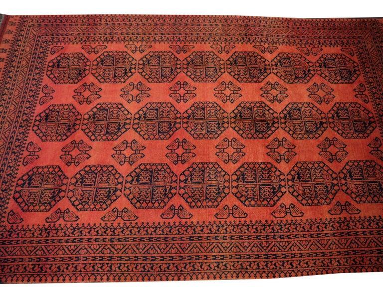Large Ersari Tribal Turkoman Rug For Sale 2