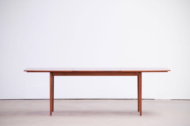 Large Expendable Rosewood Dining Table by Tom Robertson for McIntosh, 1960s For Sale 7