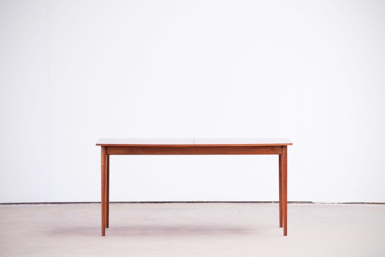 Large Expendable Rosewood Dining Table by Tom Robertson for McIntosh, 1960s For Sale 9