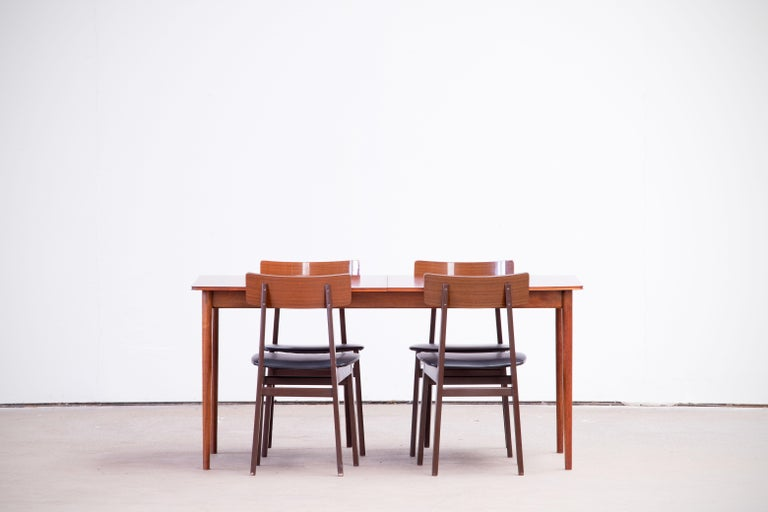 Large Expendable Rosewood Dining Table by Tom Robertson for McIntosh, 1960s For Sale 10