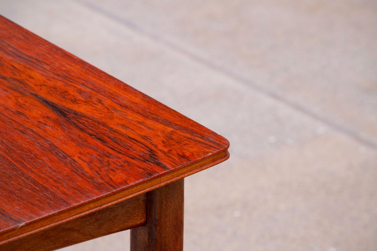 Large Expendable Rosewood Dining Table by Tom Robertson for McIntosh, 1960s For Sale 13