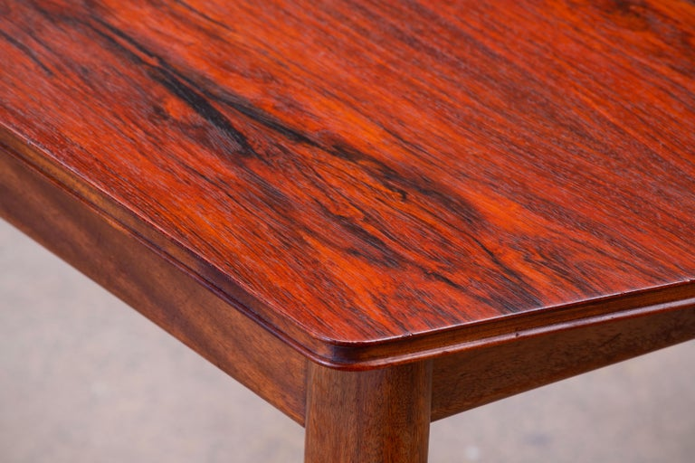 Large Expendable Rosewood Dining Table by Tom Robertson for McIntosh, 1960s For Sale 14