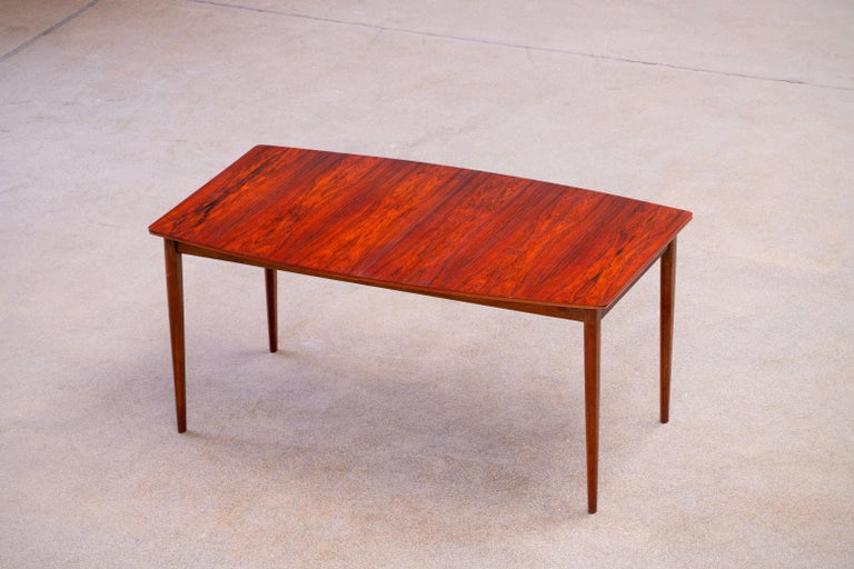 Large Expendable Rosewood Dining Table by Tom Robertson for McIntosh, 1960s For Sale 2