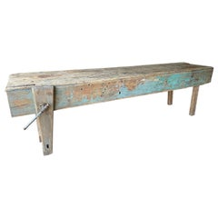 Large Farm Style Workbench Kitchen Island