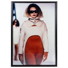 Large Fashion Photography of the Avant Garde Fashion Brand TONGA, Munich 1980s