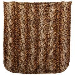 Large Faux Fur Bedspread, 1950s France