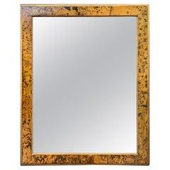 Large Faux Tortoiseshell Mirror