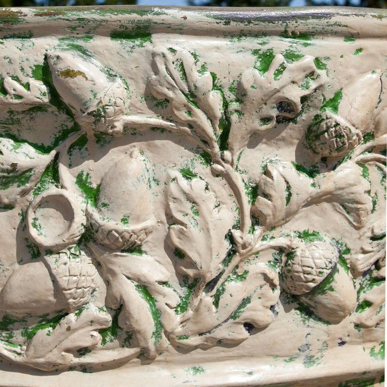 Large Fiberglass Planter, Italy, 1970s In Good Condition For Sale In Greding, DE