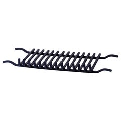 Large Fireplace Grate for Andirons, Firedogs