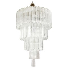 Large Five Tier Vennini Tronchi Chandelier