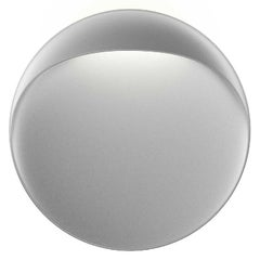 Large 'Flindt' Indoor or Outdoor Wall Light in Aluminum Gray for Louis Poulsen