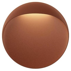 Large 'Flindt' Indoor or Outdoor Wall Light in Cortens Red for Louis Poulsen