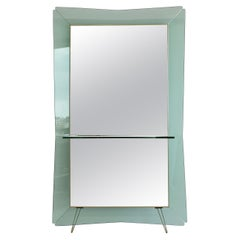 Large Floor Mirror by Cristal Art, Italy 1950s/ 1960s