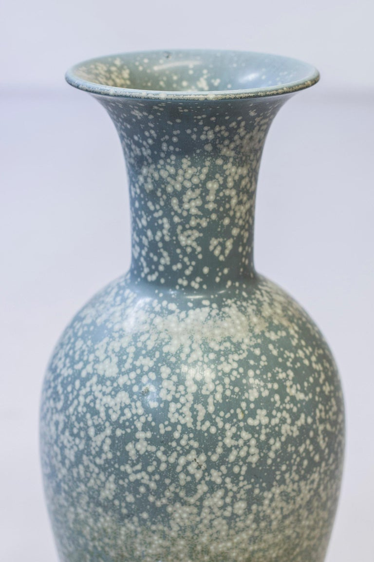 Swedish Large Floor Vase by Gunnar Nylund for Rörstrand, 1950s For Sale