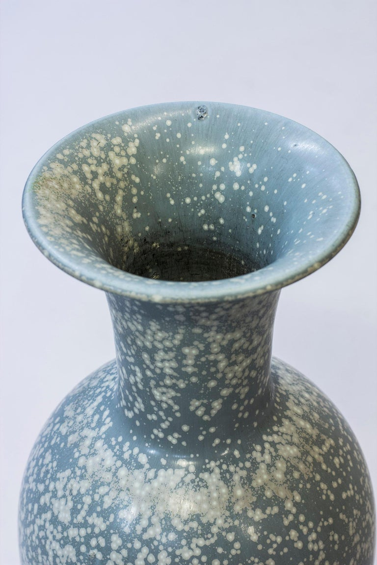 Large Floor Vase by Gunnar Nylund for Rörstrand, 1950s In Good Condition For Sale In Stockholm, SE