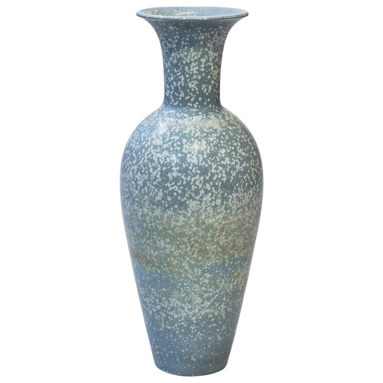 Large Floor Vase by Gunnar Nylund for Rörstrand, 1950s For Sale