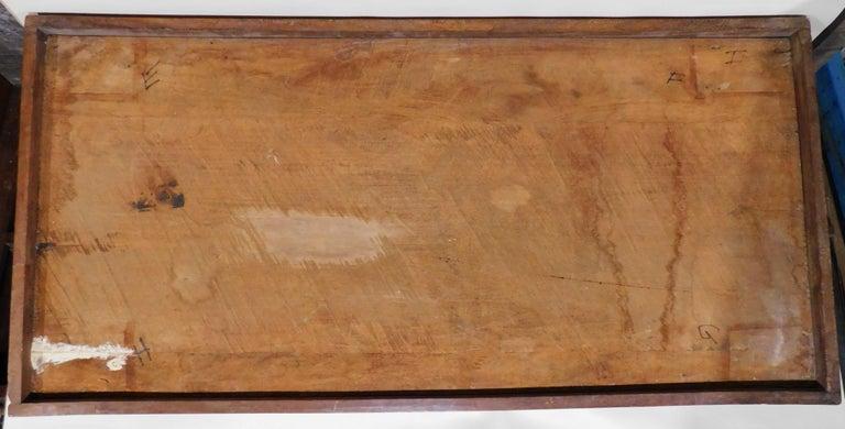 Large Folk Art Hand Carved Wood American Dollar Bill Sign For Sale 6