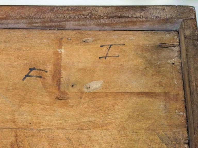 Large Folk Art Hand Carved Wood American Dollar Bill Sign For Sale 8