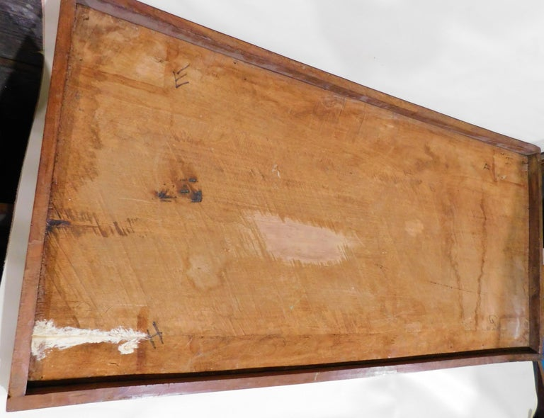 Large Folk Art Hand Carved Wood American Dollar Bill Sign For Sale 9