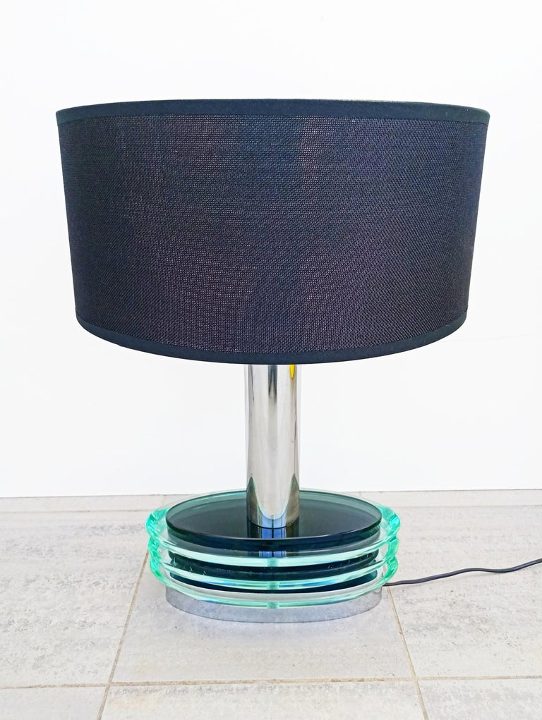 20th Century Large Fontana Arte Modulable Table Lamp, Italy, 1970s For Sale