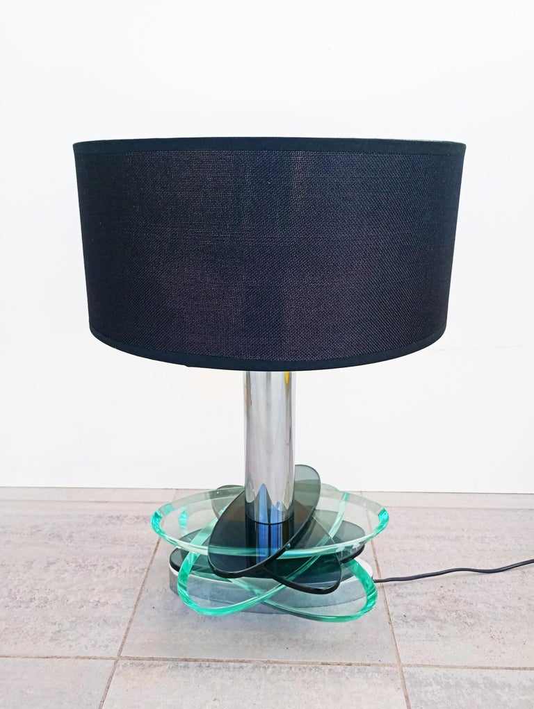 Large Fontana Arte Modulable Table Lamp, Italy, 1970s For Sale 1
